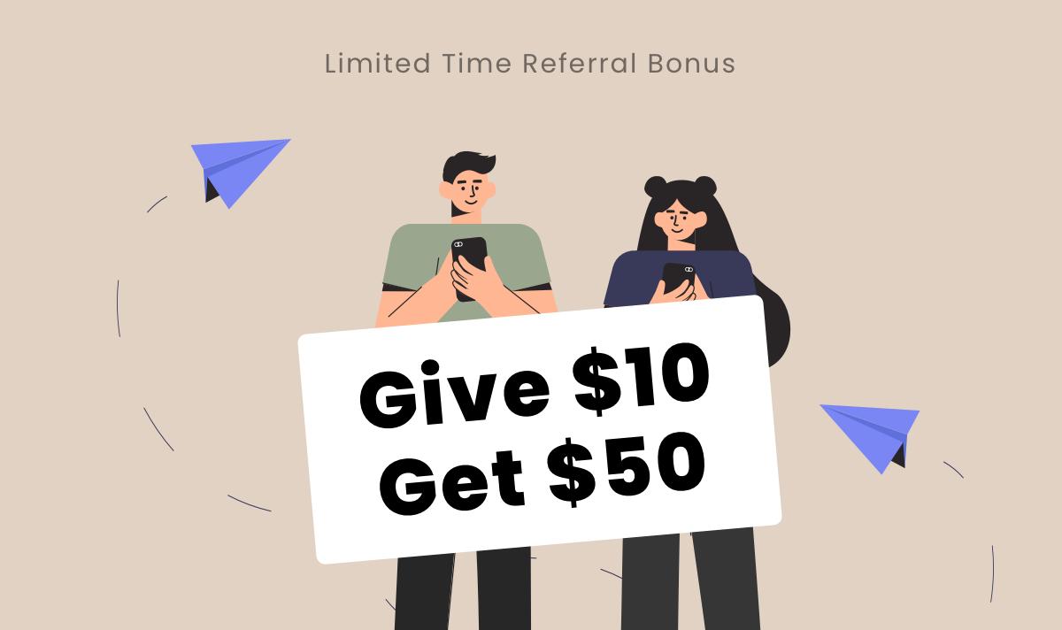 Netcoins Referral Reward