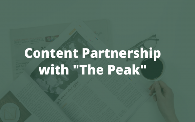 A Content Partnership with The Peak & Lessons We Can Learn From Charlie Munger